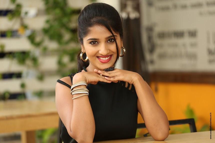 Meghana Lokesh at Idi Maa Prema Katha Interview