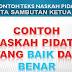 Contoh Teks Naskah Pidato Kata Pengantar Sambutan Ketua RT Dalam Rapat