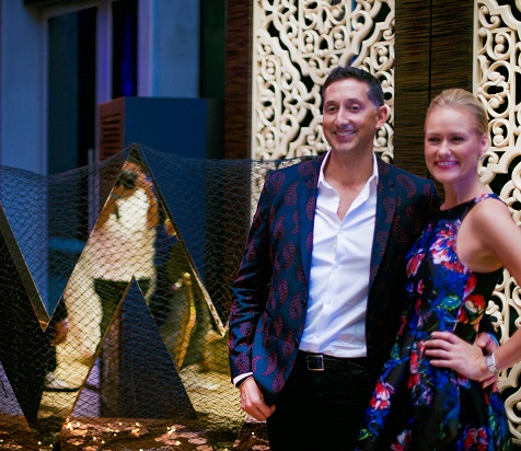 Image 1- (L-R) Anthony Ingham, The Global Brand Leader, W Hotels Worldwide along with Sarah Doyle, Global Brand Director, W Hotels Worldwide at the hottest W preview
