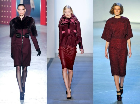 Trends Autumn/Winter 2012 / 2013: The Red Oxblood