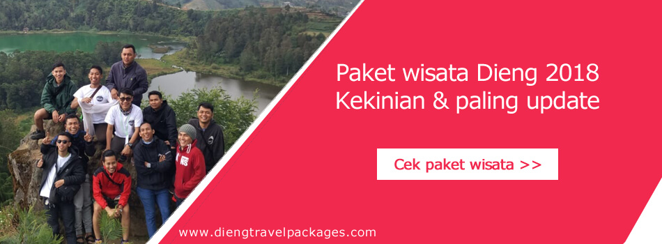 paket wisata dieng 2018
