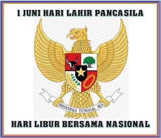 Perubahan Hari Libur Nasional dan Cuti Bersama Tahun 2017, 1 Juni Jadi Hari Libur Nasional