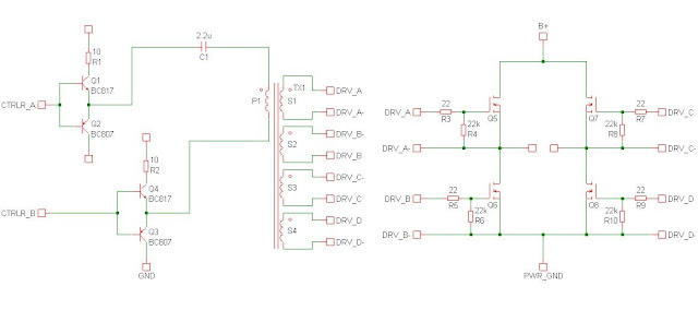 Electronic Components Crazy Fans: Full Bridge Inverter