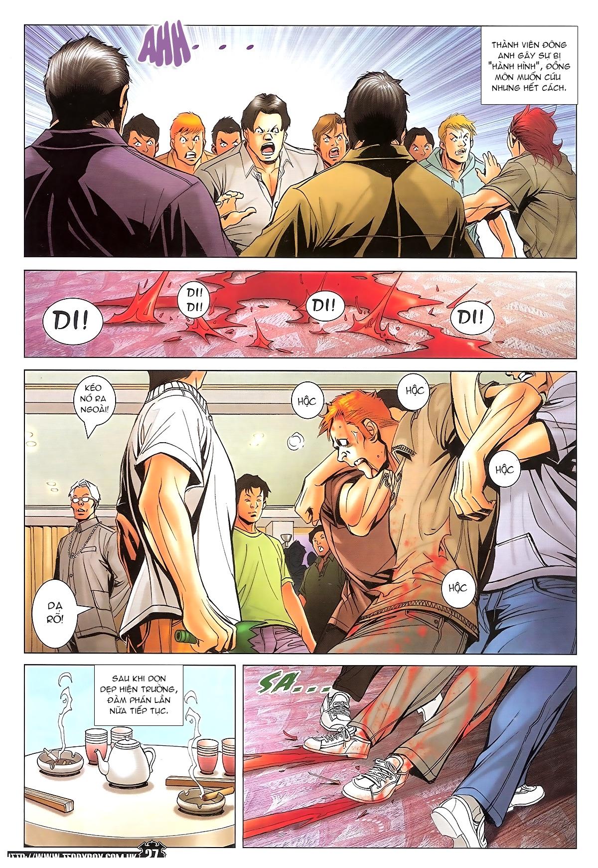 Người Trong Giang Hồ - Ngũ Hổ qui thiên - Chapter 1718: Đàm phán siêu cấp 4 - Pic 23