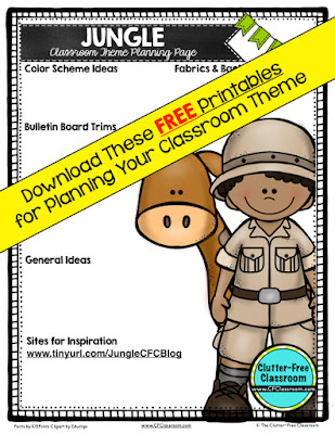 Jungle Safari Themed Classroom Ideas Printable Classroom