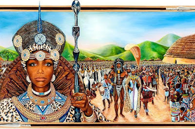 Mujeres que patean traseros: África