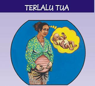4 terlalu kehamilan
