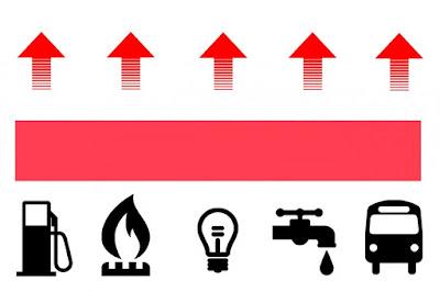 Los números de Macri: el dólar subió 101,3% solamente en el 2018. La luz, el gas, y el agua tuvieron aumentos que fueron entre 400% y el 2800%. La prepaga, la nafta, y el transporte no se quedaron atrás