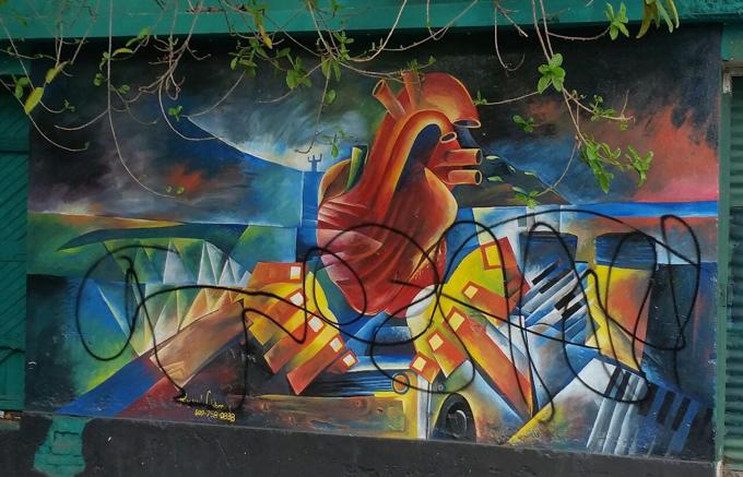 Vándalos dañan murales en Santiago; alcaldía ofrece RD$50 mil por información