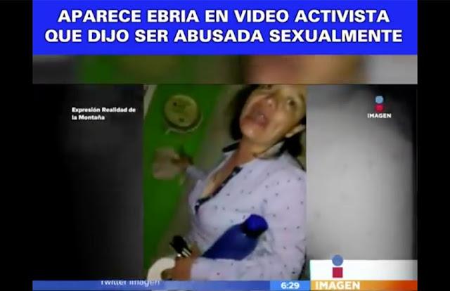 Caso de activista da un giro inesperado, exhiben vídeos donde se muestra borracha y prepotente.