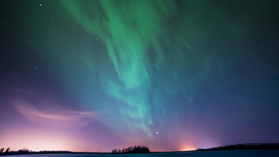 Northern Lights, Aurora, Night, Sky, Scenery, 8K, #4.2314