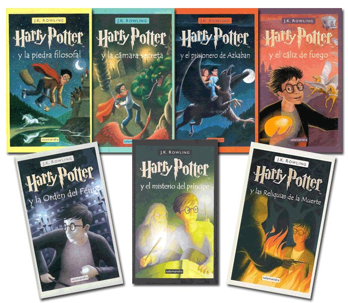 Libro Harry Potter 2016 ¿cuál Ha Sido Tu Libro Favorito De La Saga Harry Potter