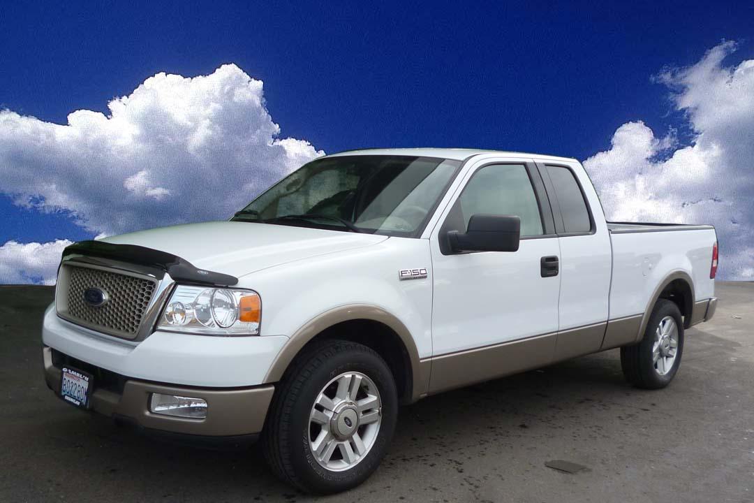 Ford Dealership Tacoma >> Gamblin Motors: 2004 Ford F-150 White