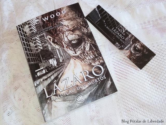 """Resenha: livro """"Lázaro - A maldição dos mortos"""", A. Wood, Editora Selo Jovem, capa, zumbis"""