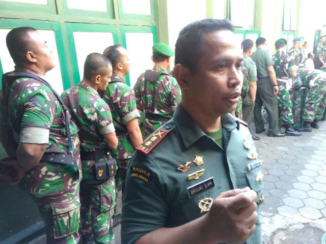 Antisipasi Penyalahgunaan Narkoba, Anggota Kodim 0728/Wonogiri Dites Urine Dadakan