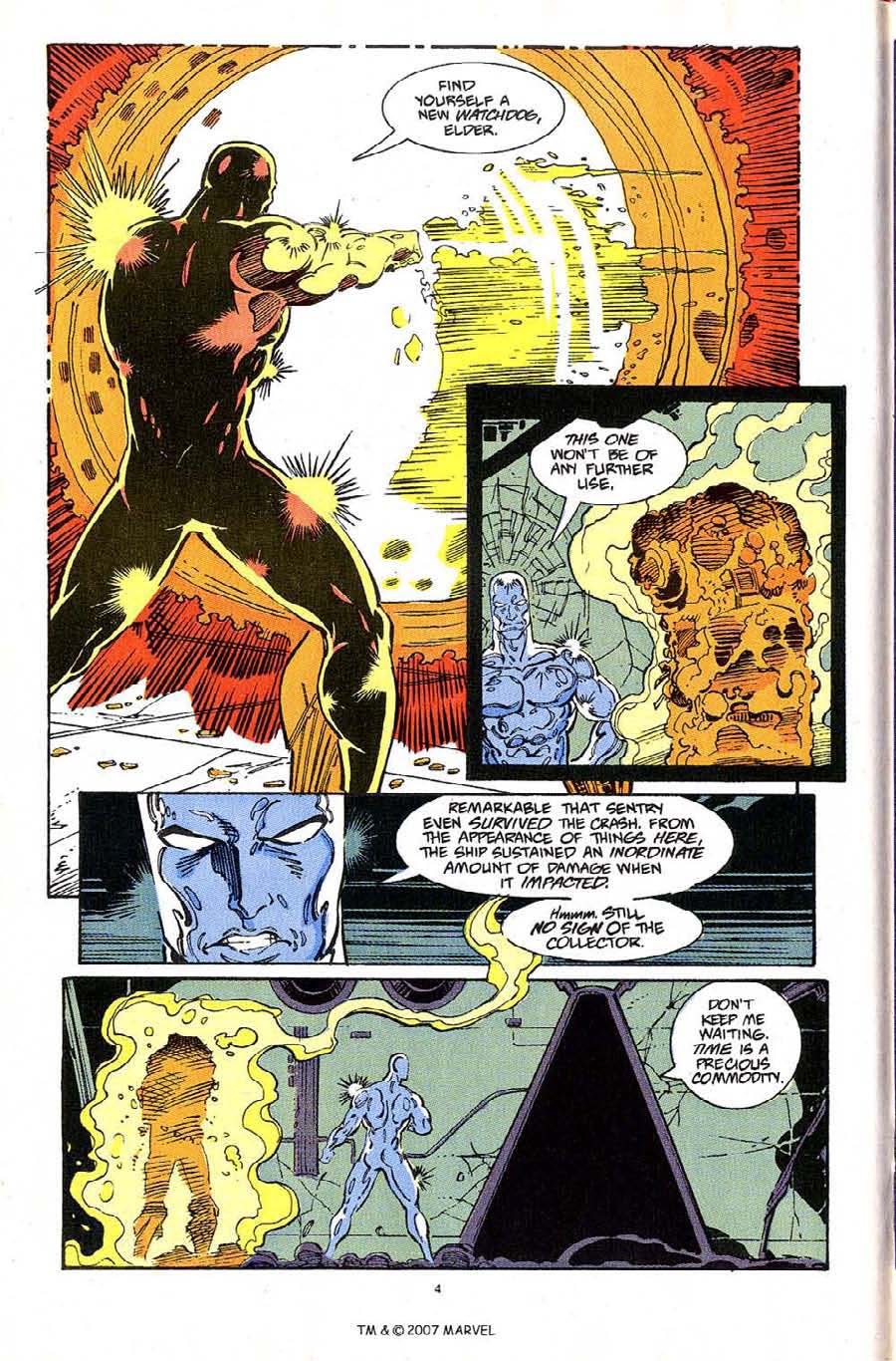Read online Silver Surfer (1987) comic -  Issue #61 - 6
