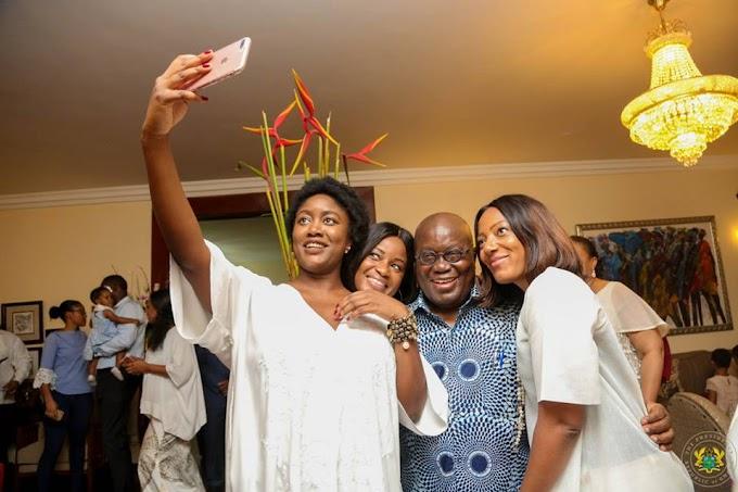 Photos: See how Nana Addo celebrated his 73rd Birthday