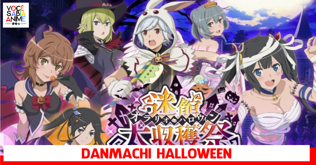 Evento de Halloween no game mobile de Danmachi