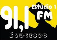 Rádio Estúdio 1 FM 91,1 de Franca e Cristais Paulista SP