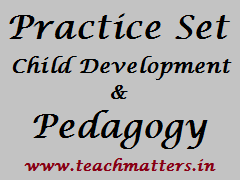 image : Child Development and Pedagogy Practice Set/Test Paper @ TeachMatters