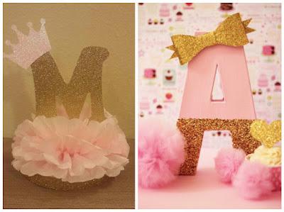 12 ideas de c mo decorar letras y n meros para cumplea os mimundomanual - Letras de corcho decoradas ...