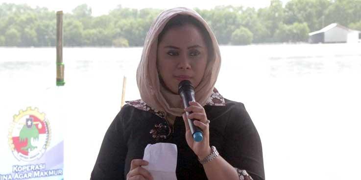 Bupati Karawang dr. Cellica Nurrachadiana.