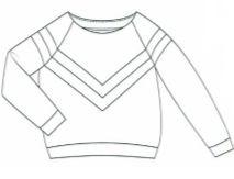 sueter Fenna La Maison Victor patrón costura sewing pattern