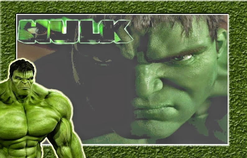 Hulk Free Printable Invitations, Frames or Cards. - Oh My ...