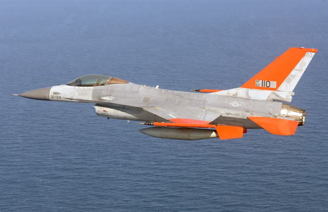 Image Attribute: QF-16, an unmanned version of aging F-16 / Source: USAF/DOD