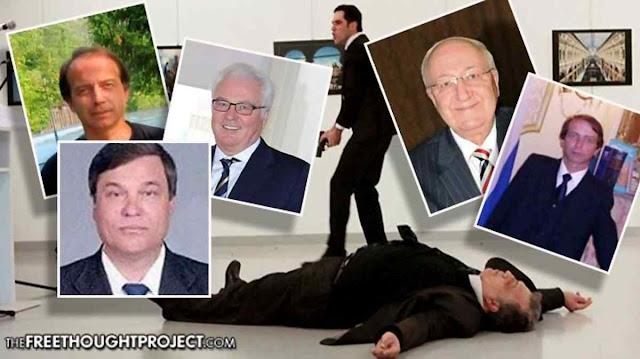 A estranha epidemia de diplomáticos russos mortos de modo inexplicado