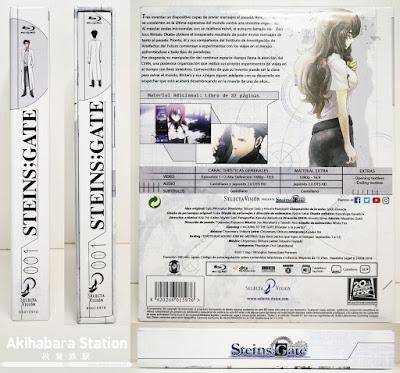 Review de STEINS;GATE parte 1, edición Blu-ray - SelectaVisión