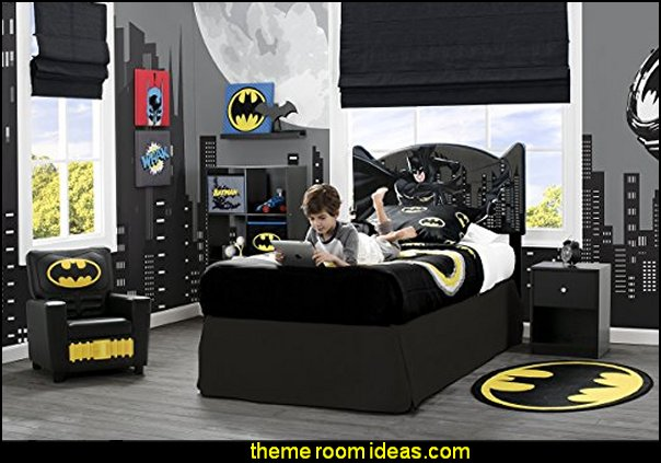 DC Comics Batman Upholstered Twin Headboard