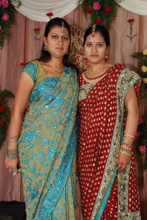 Homely Indian Girls Tamil Nadu College Girls Wearing Saree-6976