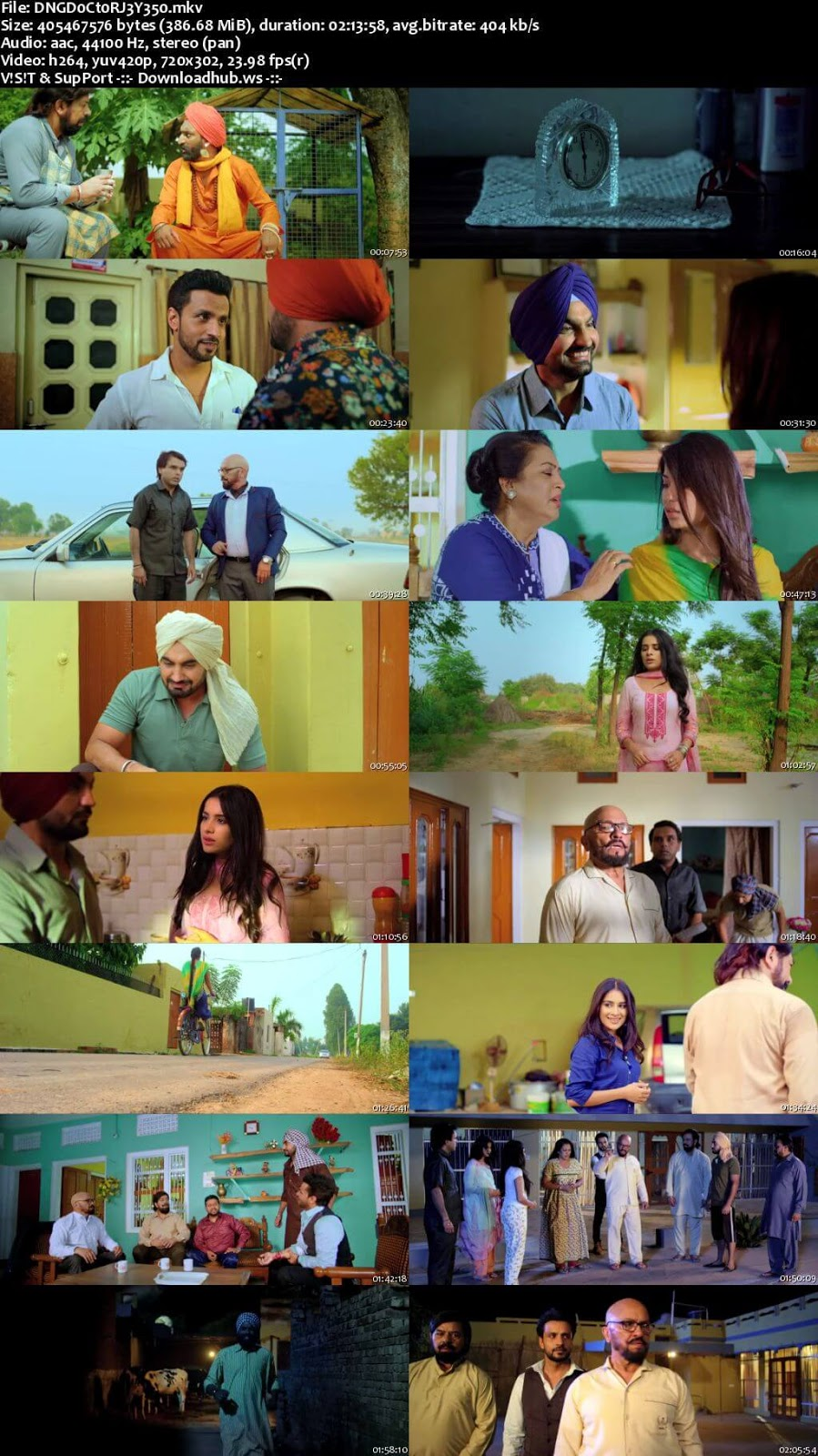 Dangar Doctor Jelly 2017 Punjabi 480p HDRip