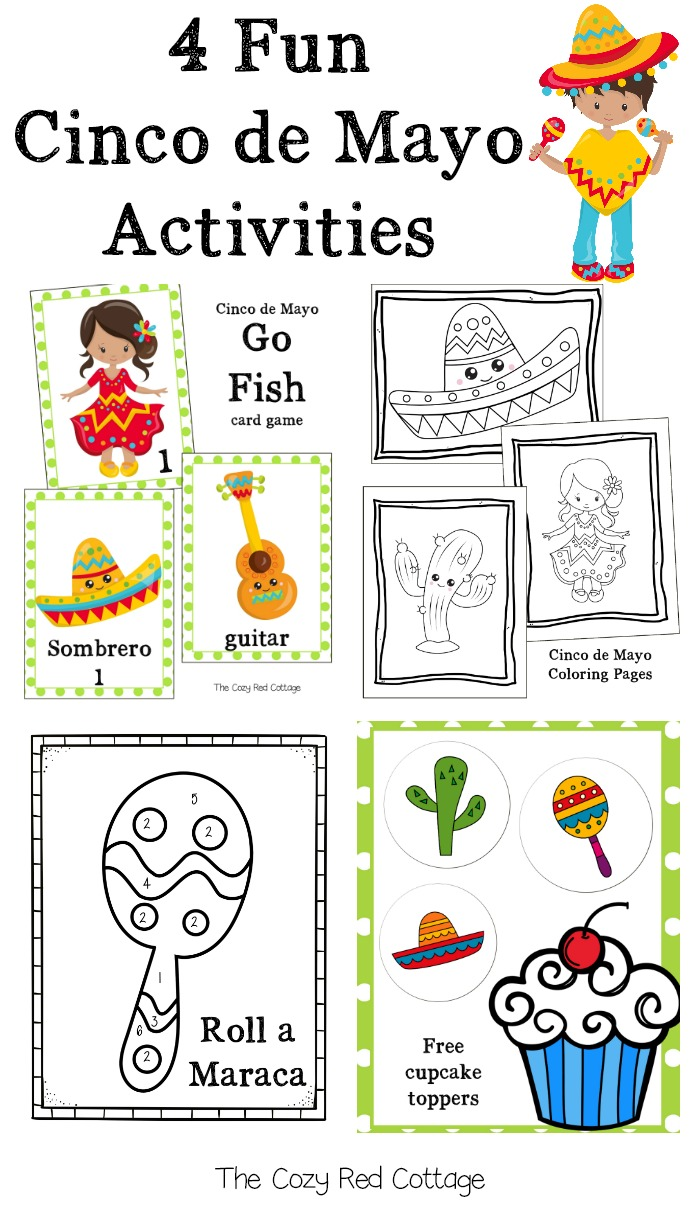 The Cozy Red Cottage 4 Fun Cinco De Mayo Activities Free Printables