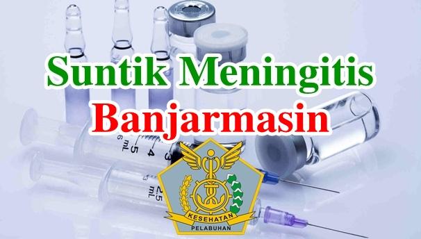 Alamat Tempat Suntik Vaksin Meningitis di Banjarmasin