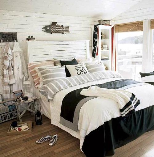 Coastal Country Bedrooms - Coastal Decor Ideas and ...