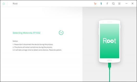 Untuk memulai root Android