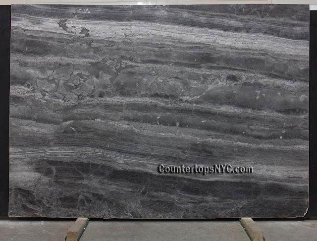 Tokyo Grey Marble Slab NYC 2cm