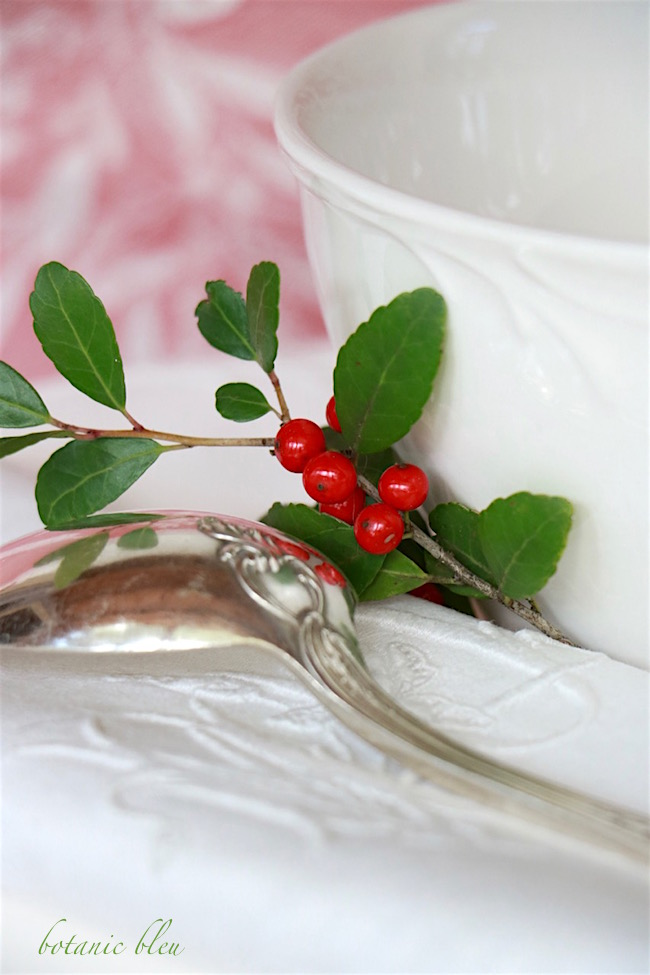 holly-sprig-with-white-bowl-french-silverplate