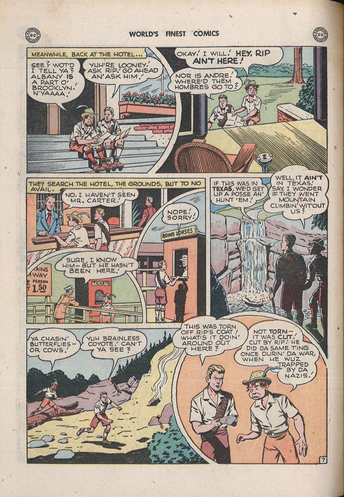 Read online World's Finest Comics comic -  Issue #33 - 54