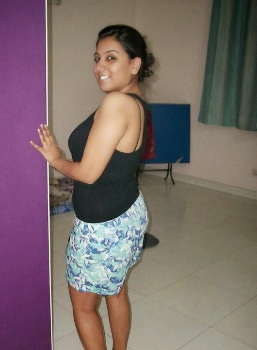 Amazing Look World  Hot Chennai Aunty Sexy Images-7279