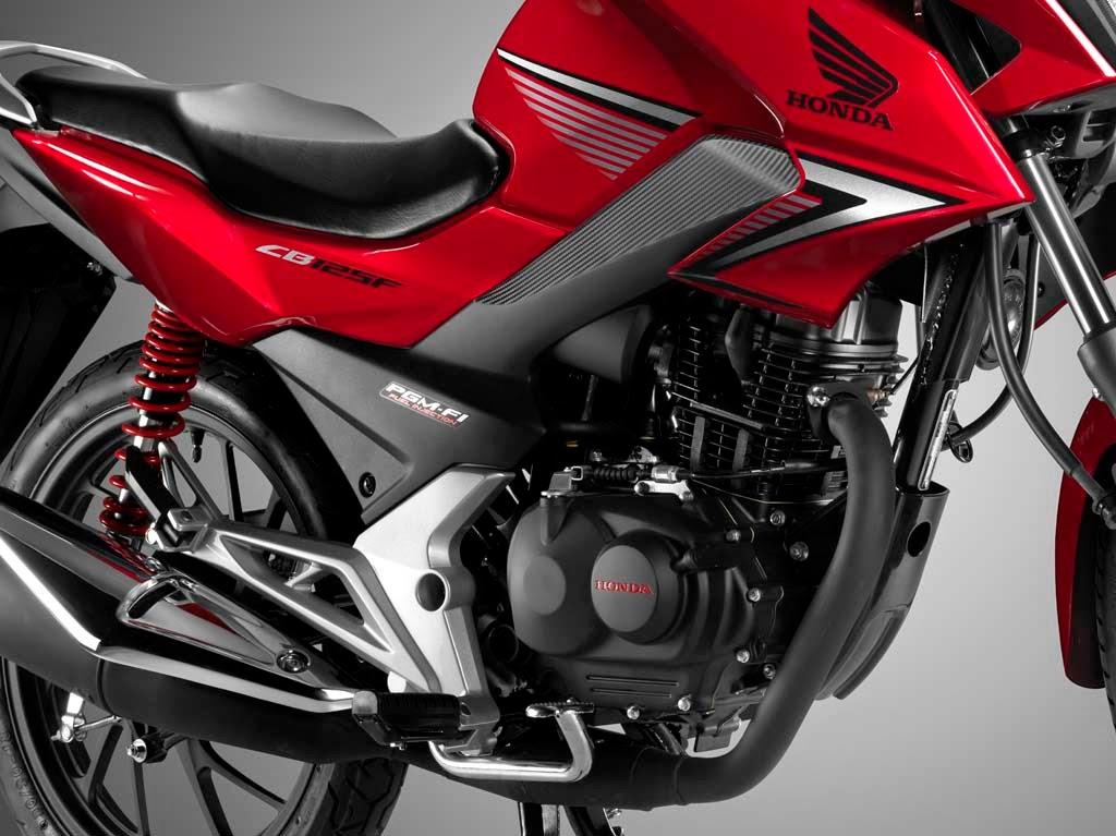 Foto All New CB125F Motor Honda Terbaru 2015 Model Sport