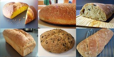 diferentes tipos de panes caseros