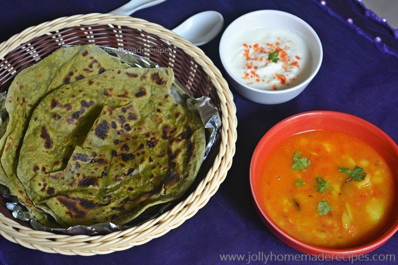Palak Paratha Recipe, How to make Healthy Palak Paratha | Spinach Paratha Recipe