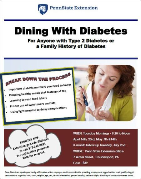 4-23-5/7/14-7-2 Dining with Diabetes