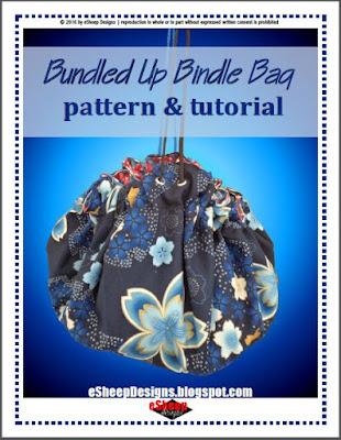 Bundled Up Bindle Bag by eSheep Designs