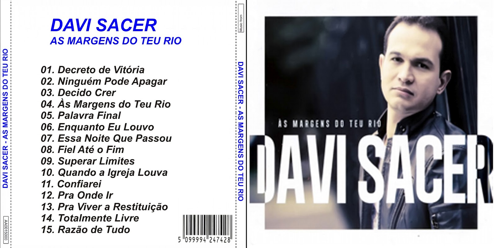cd completo davi sacer as margens do teu rio