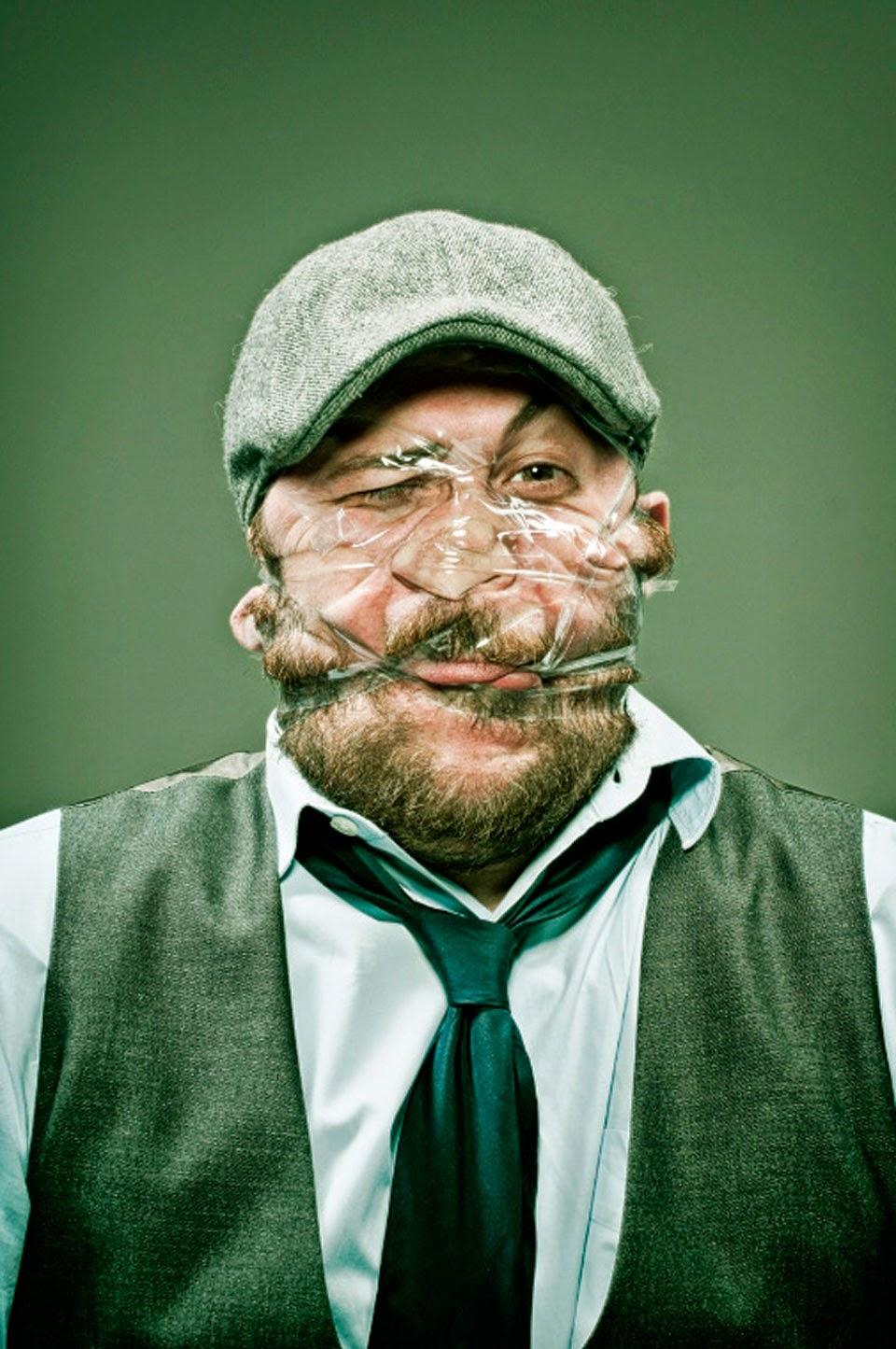 Scotch tape - Bộ ảnh độc đáo bởi nhiếp ảnh gia Wes Naman