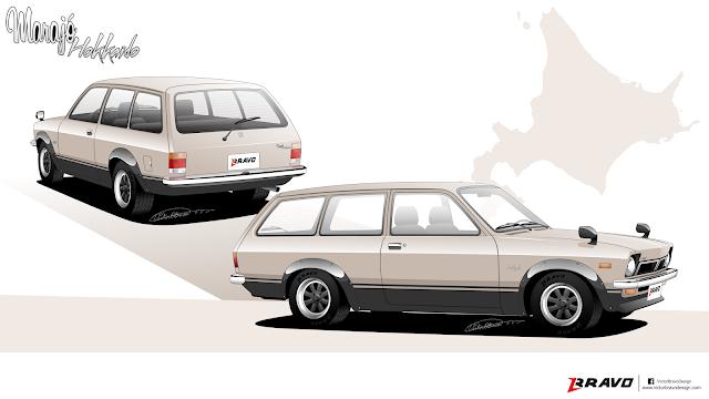 """Imagem mostrando a Chevrolet Marajó """"Hokkaido"""""""